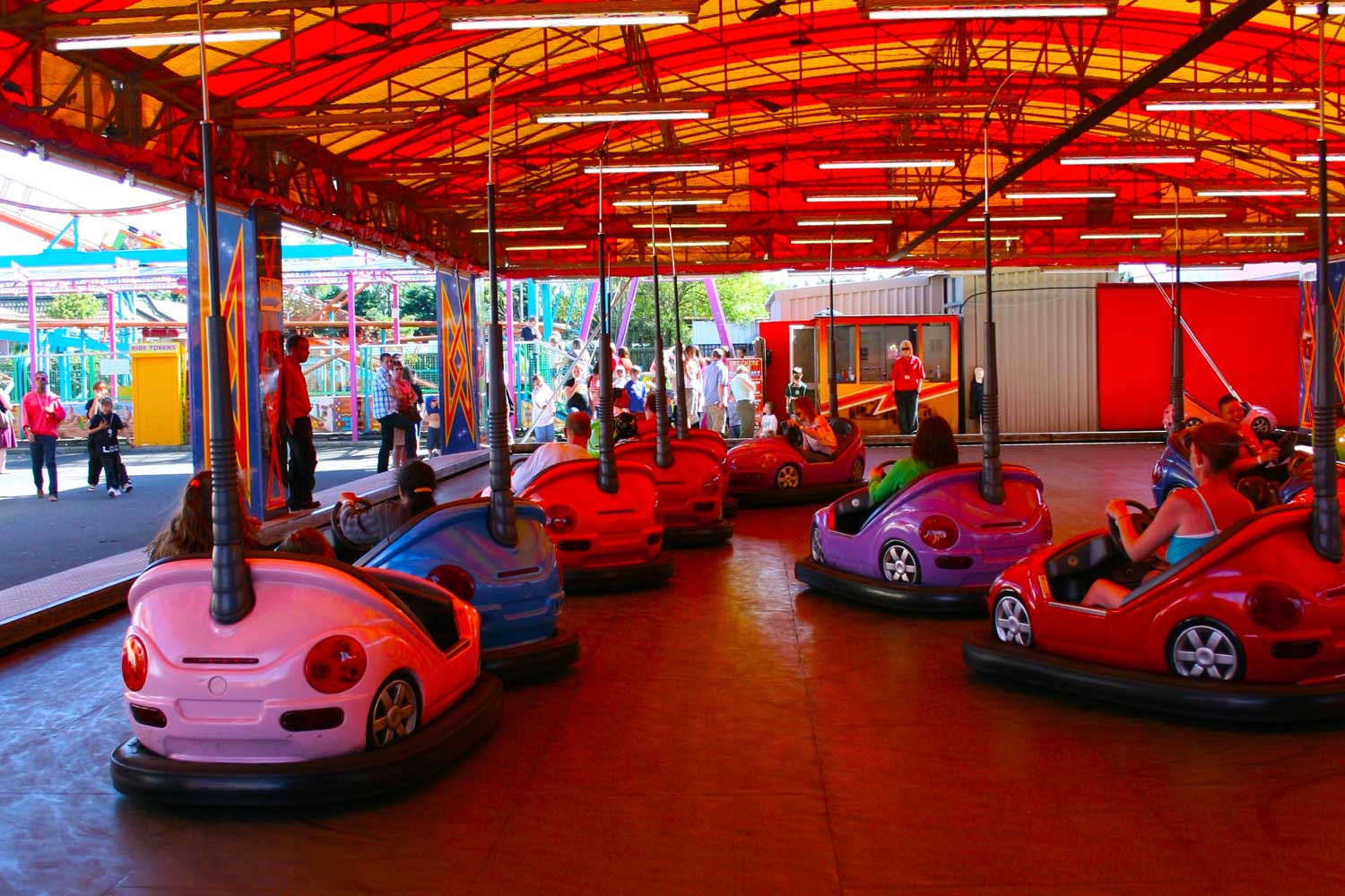 The Dodgems Fantasy Island