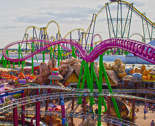 Things to do - Theme park rides Skegness